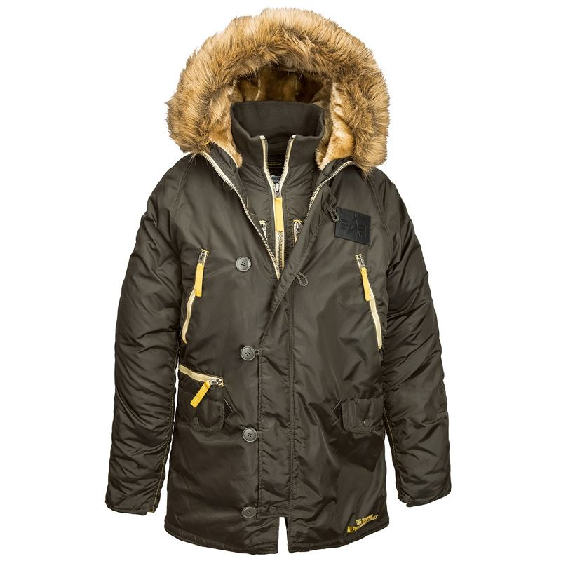 jacket inc n 3b inclement parka men 39 s parkas alpha industries. Black Bedroom Furniture Sets. Home Design Ideas