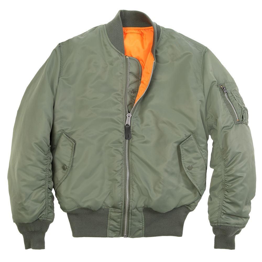 fine jacket inc alpha industries ma 1 flight jacket men. Black Bedroom Furniture Sets. Home Design Ideas