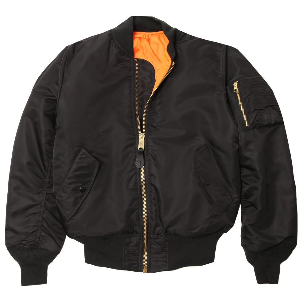 fine jacket inc alpha industries ma 1 flight jacket men