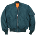 Picture of Alpha Industries Men's MA-1 Bomber Flight Jacket Navy