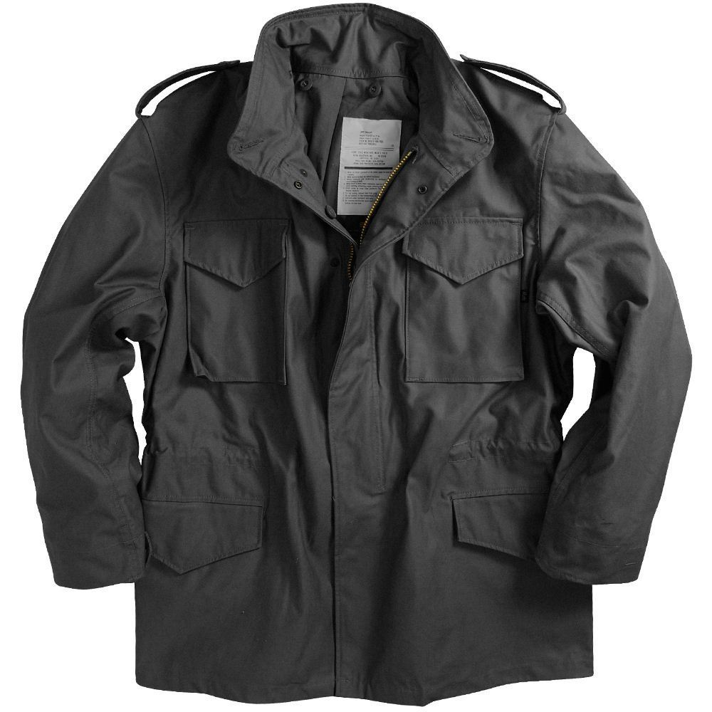 reliable reputation 50% price where to buy Alpha Industries M-65 Field Coat with Liner Black