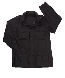 Picture of ROTHCO VINTAGE LIGHTWEIGHT M-65 JACKET BLACK