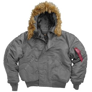 Picture of Alpha Industries N-2B Short Waist Parka Gun Metal
