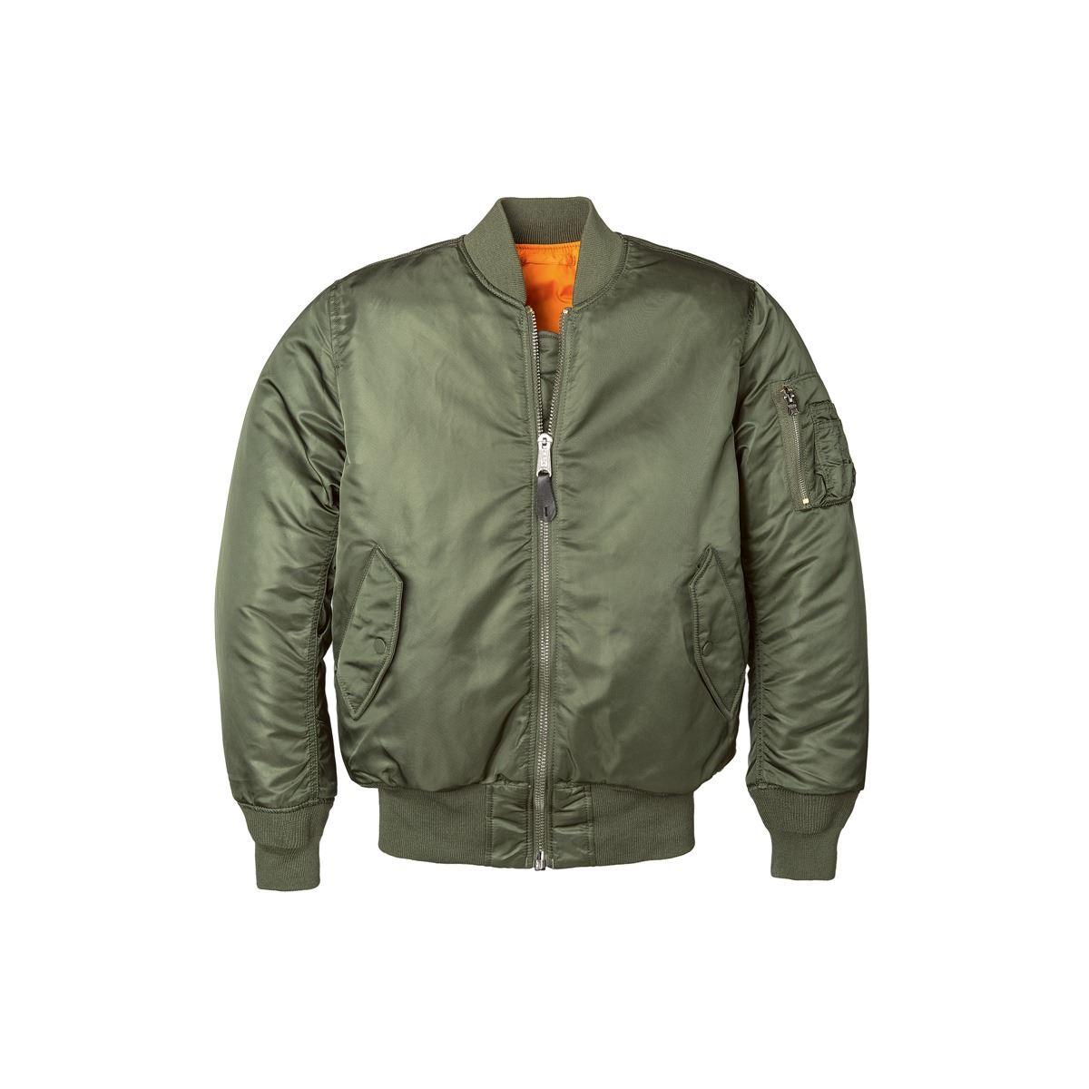 Fine Jacket Inc. MA-1 W Flight Jacket | Alpha Industries