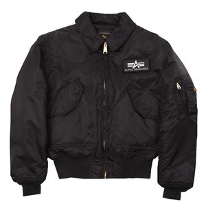 Picture of CWU 45/P Flight Jacket Black