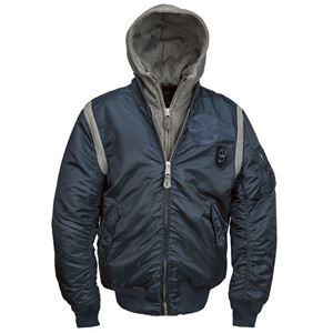 Picture of Alpha Industries MA-1 Rudder Flight Jacket Replica Blue