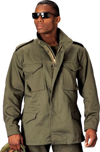 Fine Jacket Inc. Rothco M-65 Field Jacket with Liner 1ded63335d5