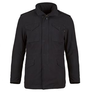 Picture of Alpha Industries M-65 Defender Field Coat Black