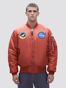Picture of Alpha Industries MA-1 NASA Flight Jacket Rust