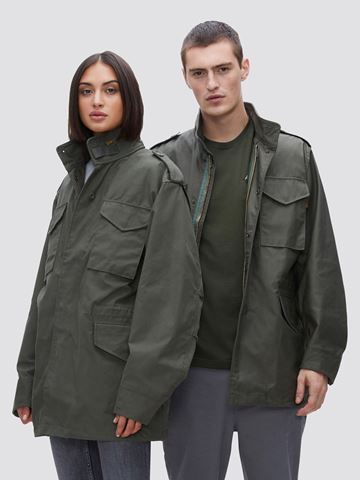 Picture of Alpha Industries M-65 Field Coat Olive Green