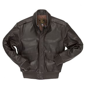 Picture of COCKPIT USA REISSUE A-2 JACKET BROWN USA MADE