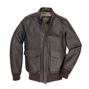 Picture of COCKPIT USA BOND STREET A-2 JACKET BROWN USA MADE