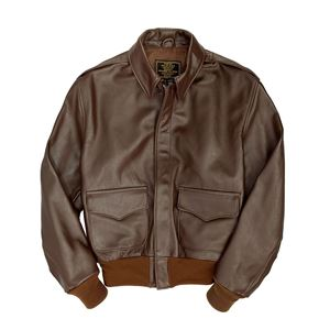 Picture of Cockpit USA WWII Government Issue A-2 Jacket Brown, Mahogany   Made in USA