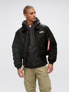 Picture of Alpha Industries CWU 45/P Flight Jacket Black