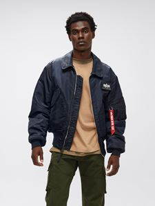 Picture of Alpha Industries CWU 45/P Flight Jacket Replica Blue