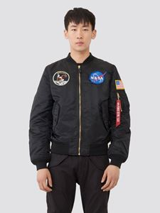 Picture of Alpha Industries L-2B Apollo Flight Jacket Bomber Black