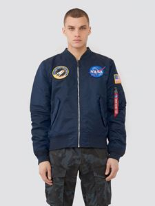 Picture of Alpha Industries L-2B NASA Light Weight Flight Jacket Replica Blue MJL47020C1