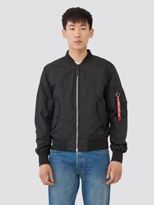 Picture of Alpha Industries L-2B Scout Light Weight Flight Jacket Black
