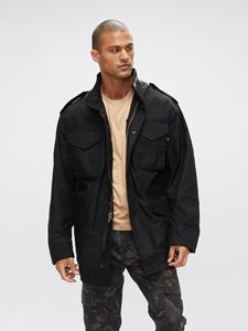 Picture of Alpha Industries M-65 Field Coat Black
